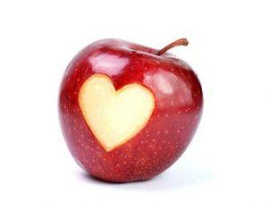 りんごの秘密^o^