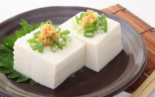 暑い時は豆腐がいい!?